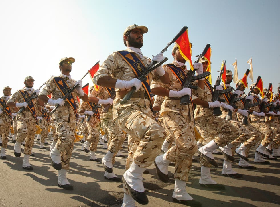 EU sanctions on Iran over human rights violations target figures in the Revolutionary Guard