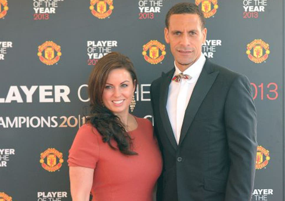 5aefbf4d741 Rio Ferdinand with his late wife Rebecca at Manchester United s annual club  awards event in 2013