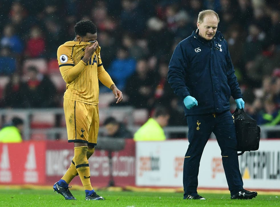 Danny Rose missed Saturday's 1-0 victory over Middlesbrough with the injury