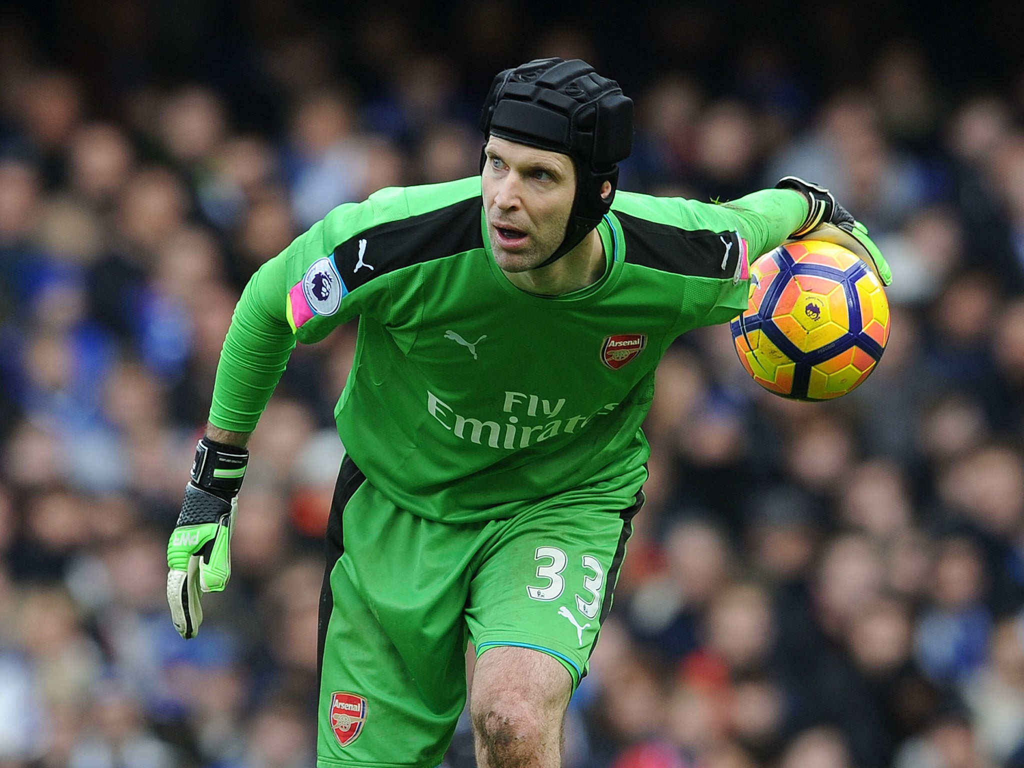 Arsenal goalkeeper Petr Cech sends message of support to Ryan