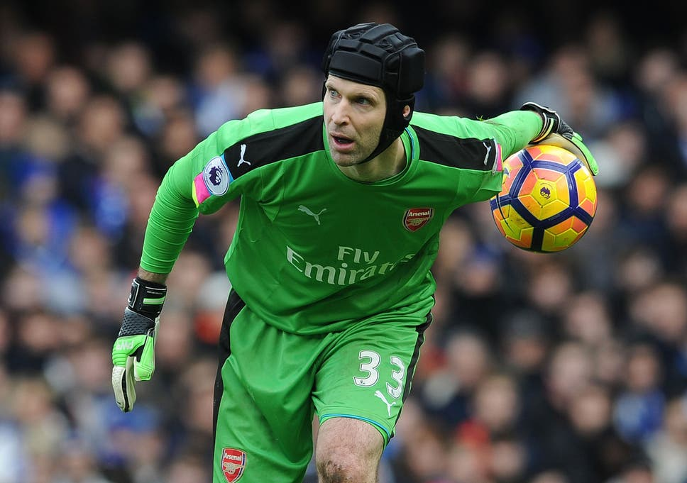 43efb2631b0 Cech is confident Arsenal will improve on their 5th-place finish next season