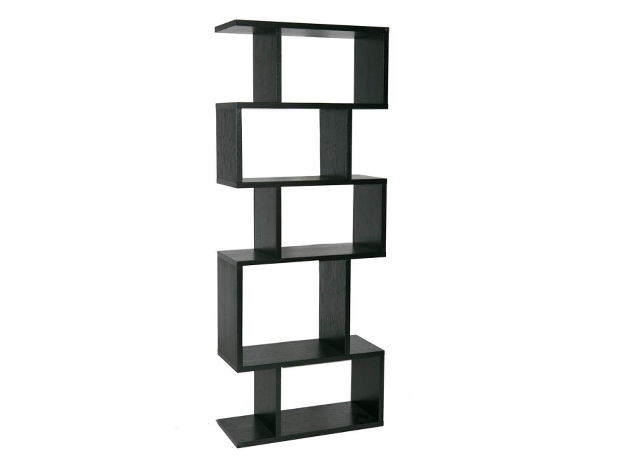 This Asymmetrical Oak Bookcase By Terence Conran Is A Real Attention Grabber Its Dynamic Looks Are Down To The Illusion Of Stacked Boxes That Have Been