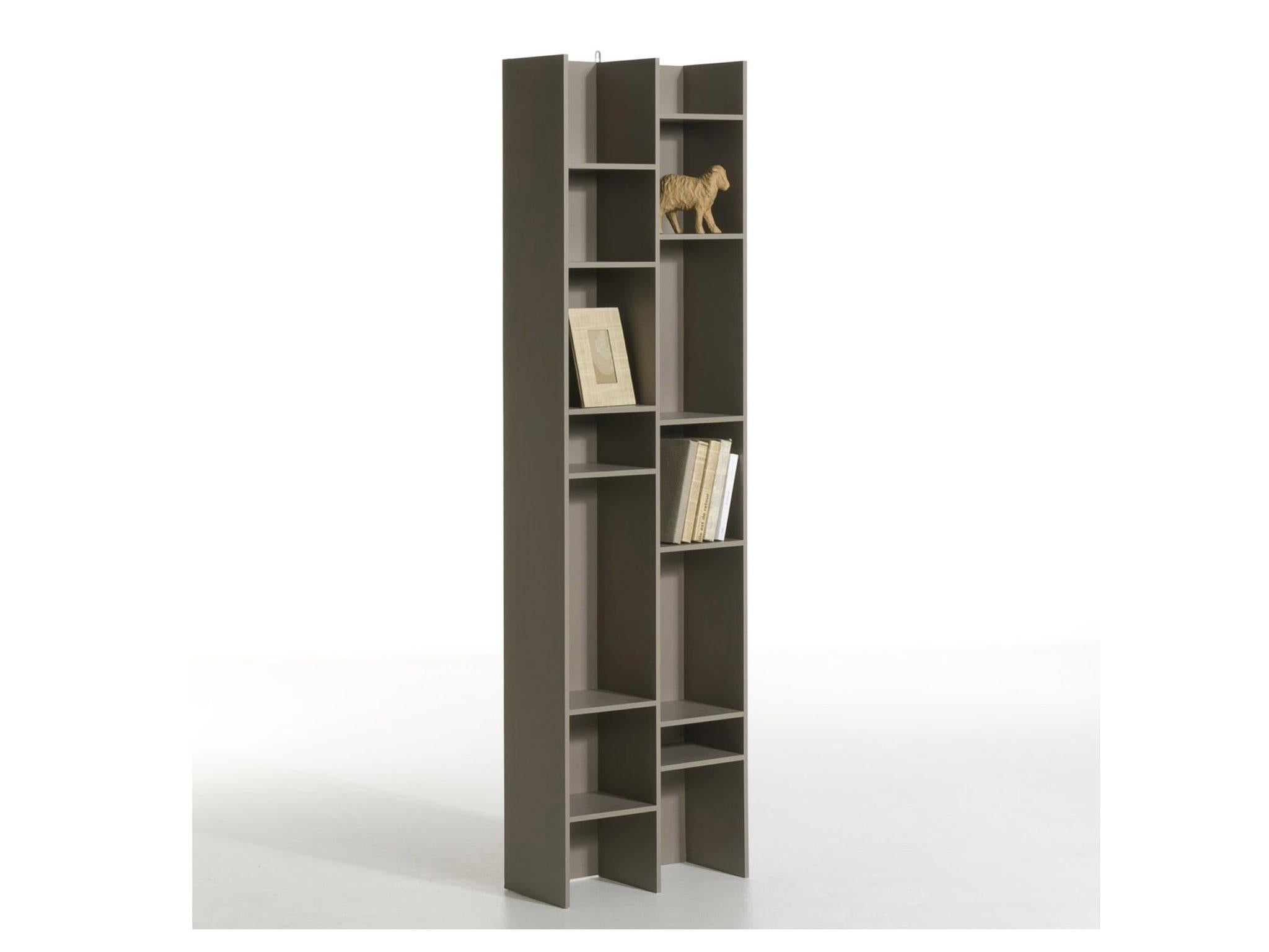 At 52cm Wide This Smart Looking Bookcase Is Good For Utilising Narrow Spaces Next To A Column Or In The Alcoves Beside Chimney Breast Perhaps
