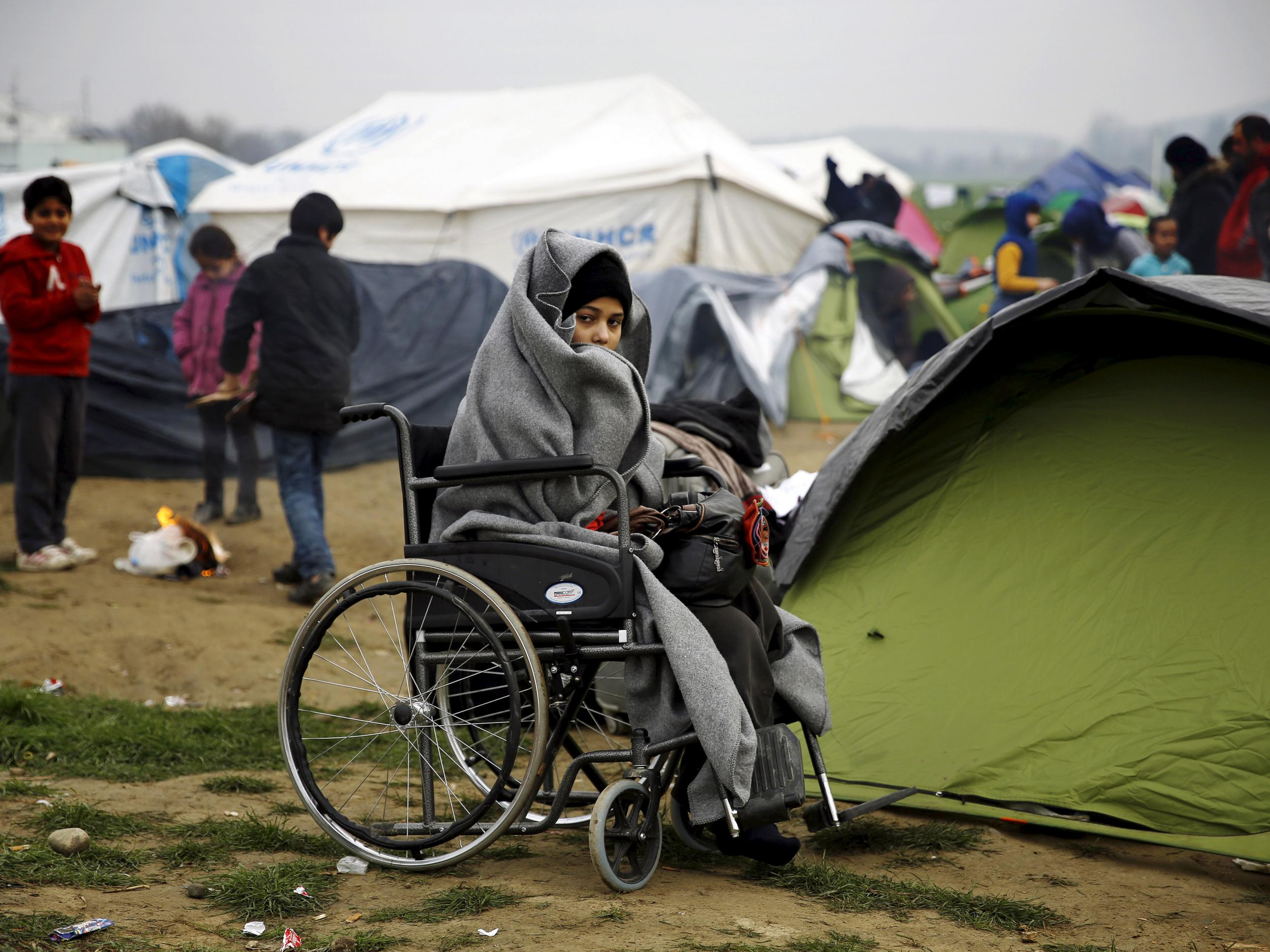 news home disabled child refugees suspend entry office resettlement unhcr united nations lord dubs