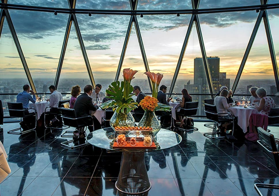 Searcys Restaurant Review Sumptous Dining With A View At