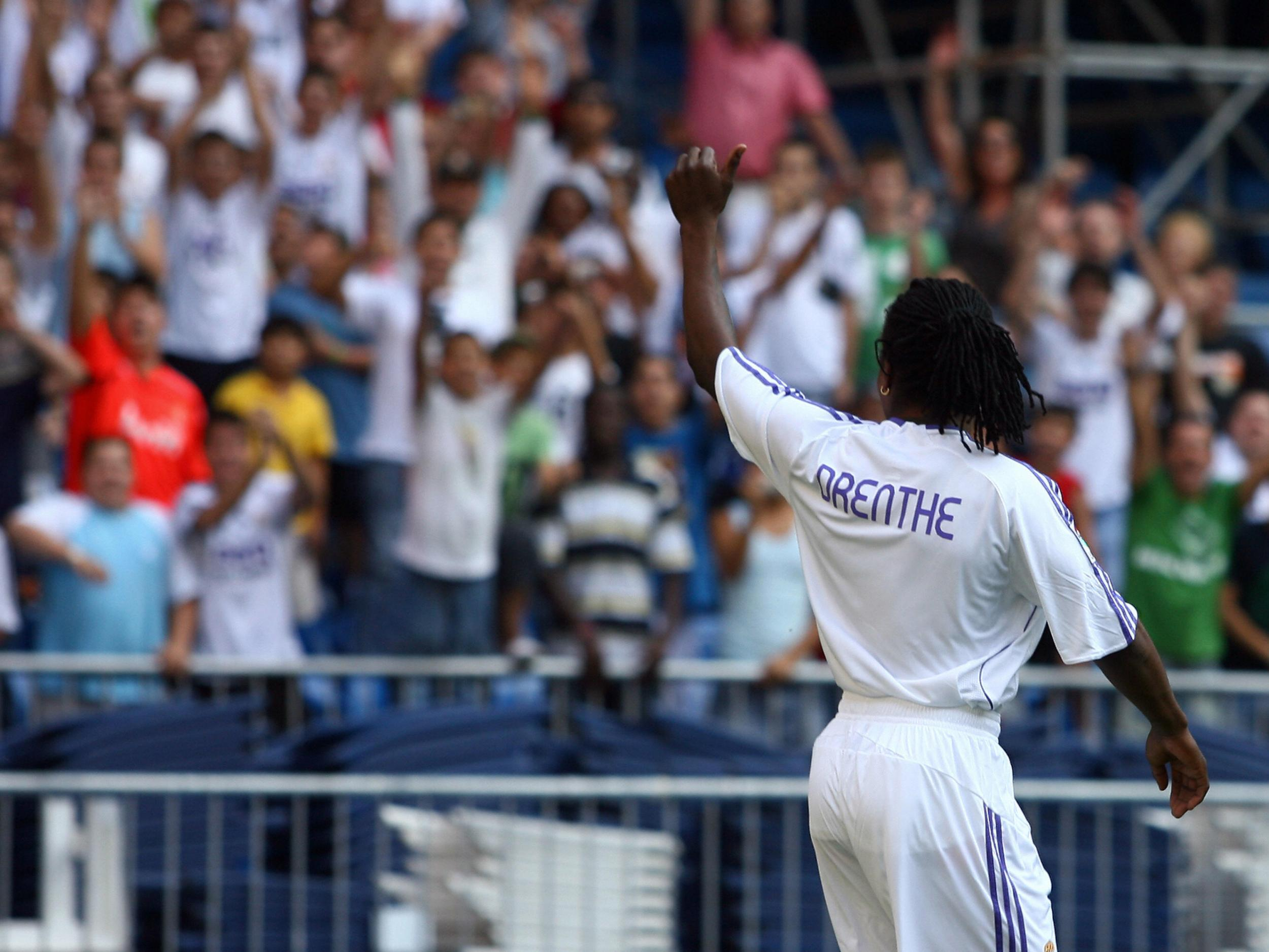 Former Real Madrid and Everton winger Royston Drenthe