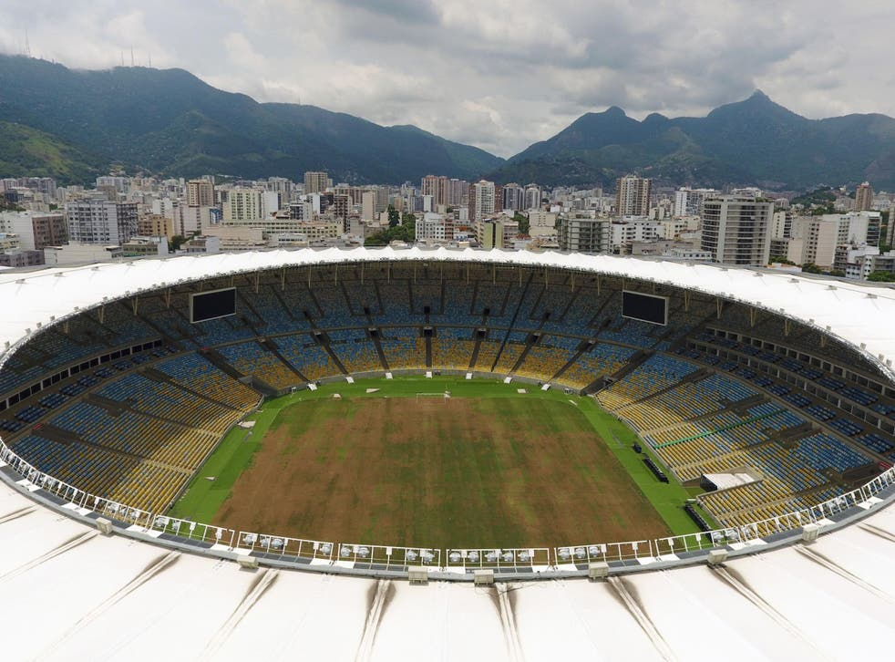 The Maracana Stadium in Rio de Janeiro six months after the 2016 Olympic Games