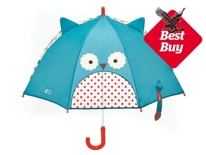 8 best kids umbrellas the independent the skip hop range of childrens umbrellas is so endearing that they will make you smile whatever the weather choose between ladybird monkey bee gumiabroncs Images
