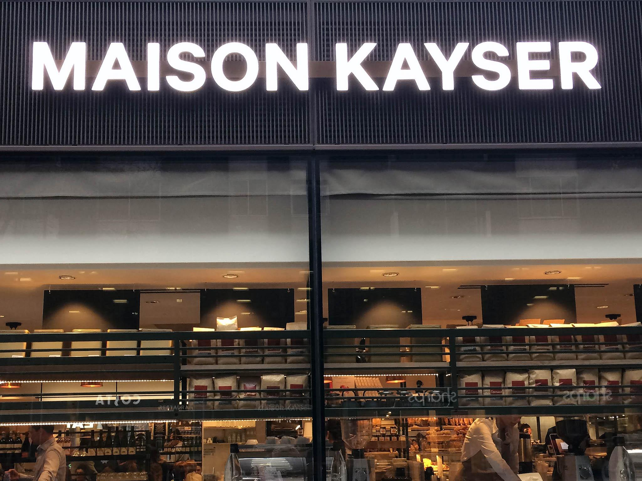 Maison kayser makes its long waited appearance in london for Maison london