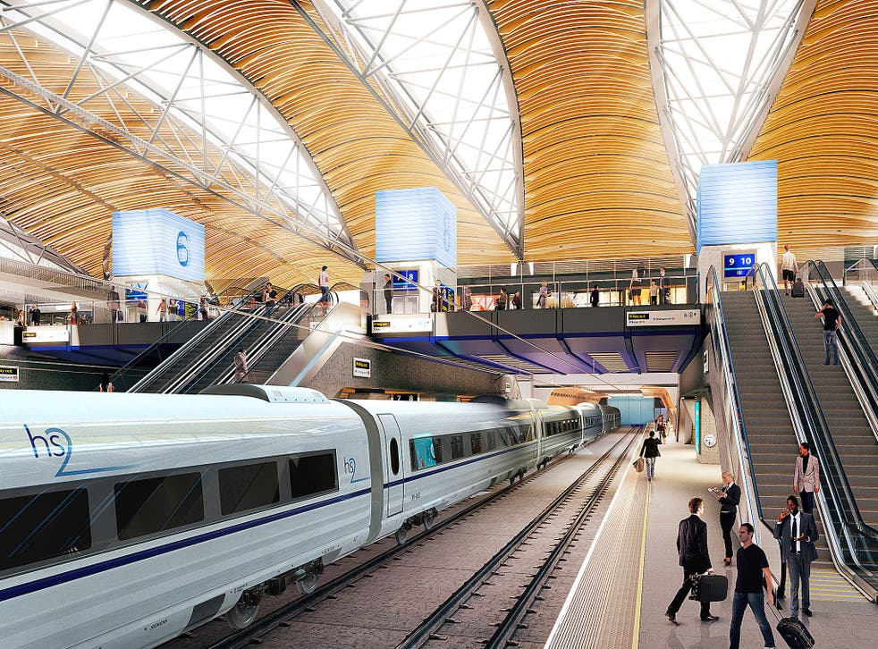 CH2M had been set to help develop a section of the network north of Crewe to Manchester and from the West Midlands to Yorkshire