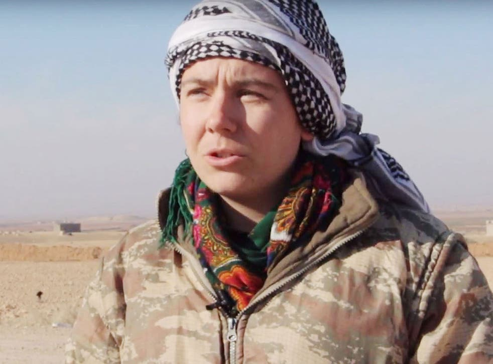 Ms Taylor left the UK in March 2016 and joined the Women's Protection Units (YPJ) in Syria