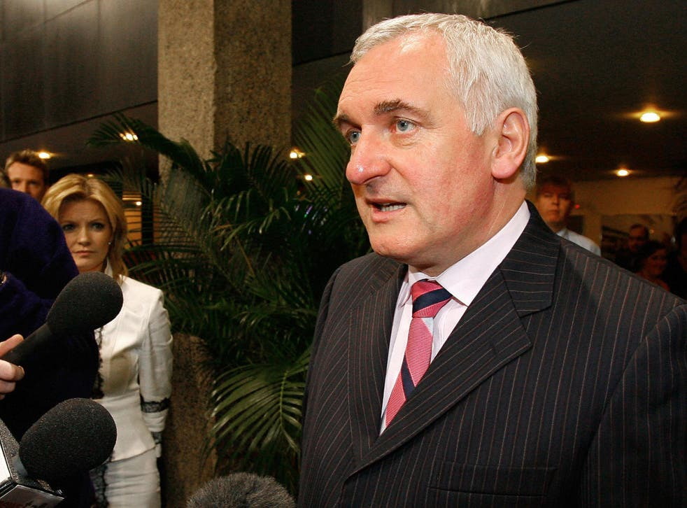 Bertie Ahern said the UK should have decided its plans for a future relationship with the EU