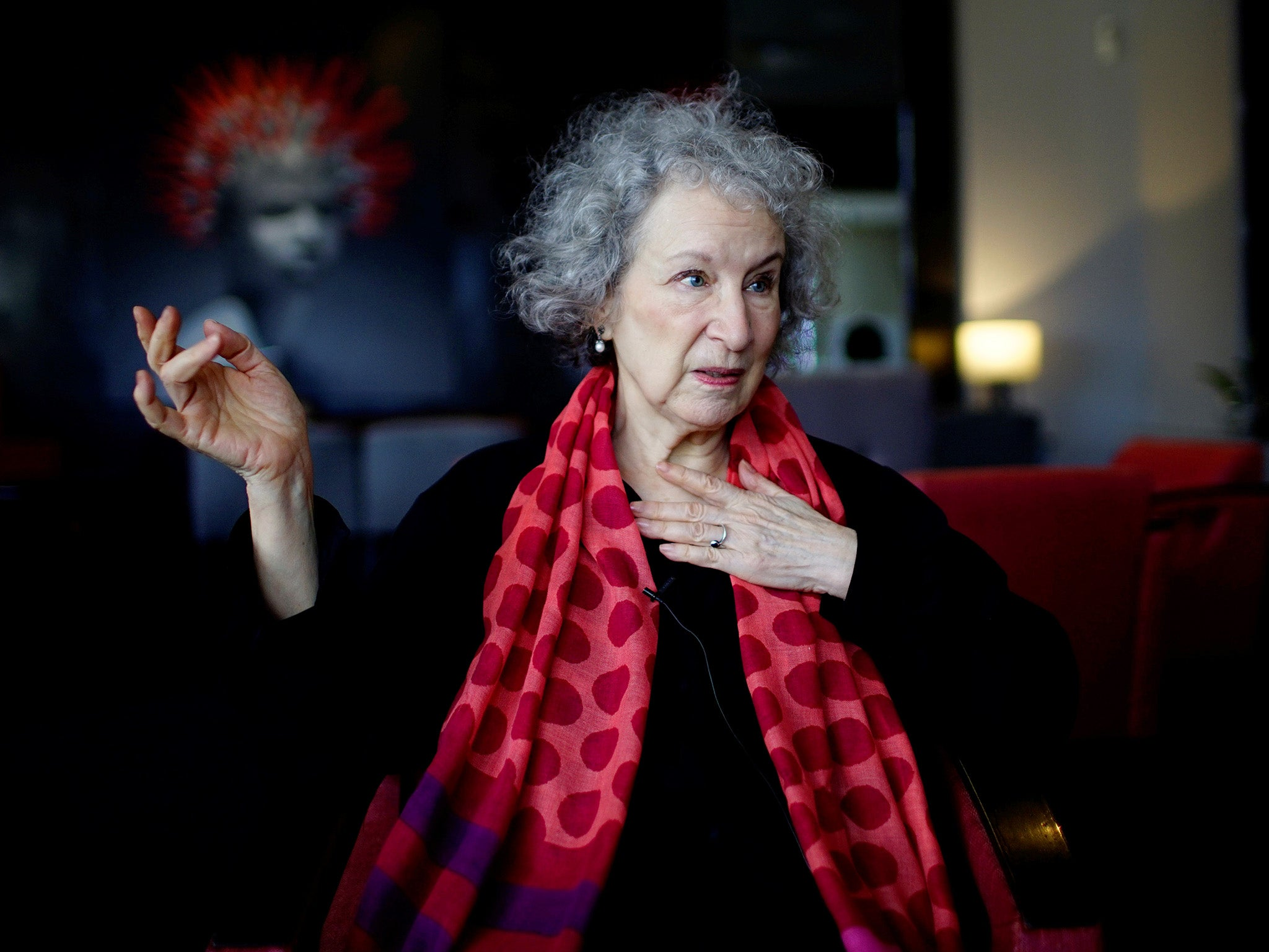 Margaret atwood says rise of trump has made the handmaid 39 s for The atwood