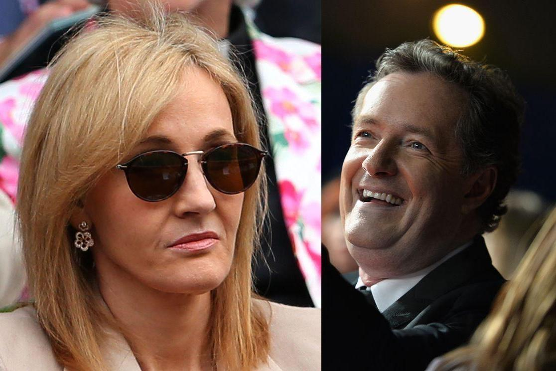 Piers Morgan And J K Rowling Massively Fell Out And The Internet