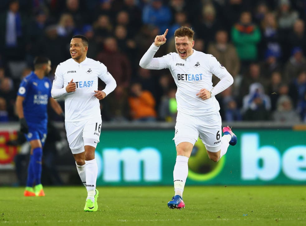 Swansea clinched an important three points to move away from the relegation zone