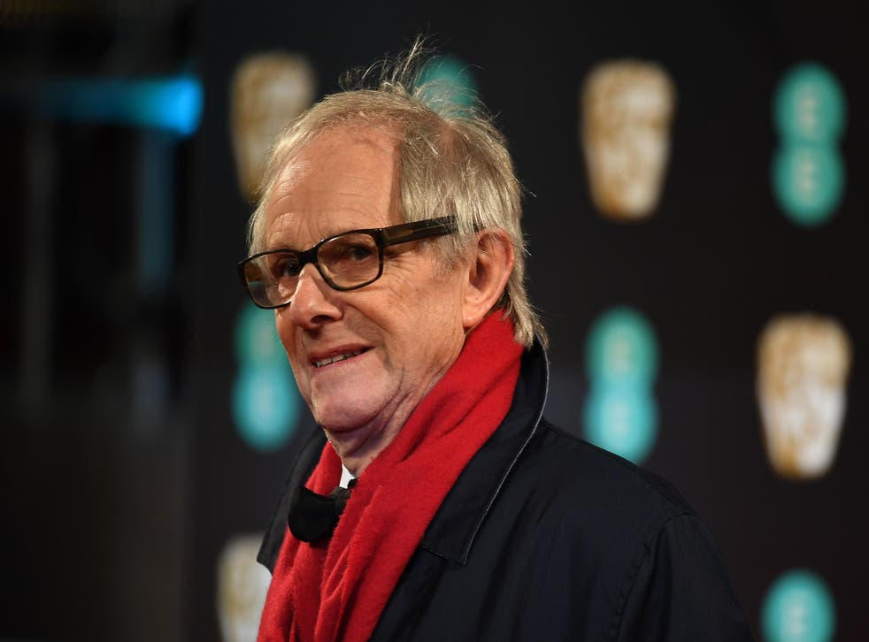 I, Daniel Blake director Ken Loach lashed out at the Government after receiving his award