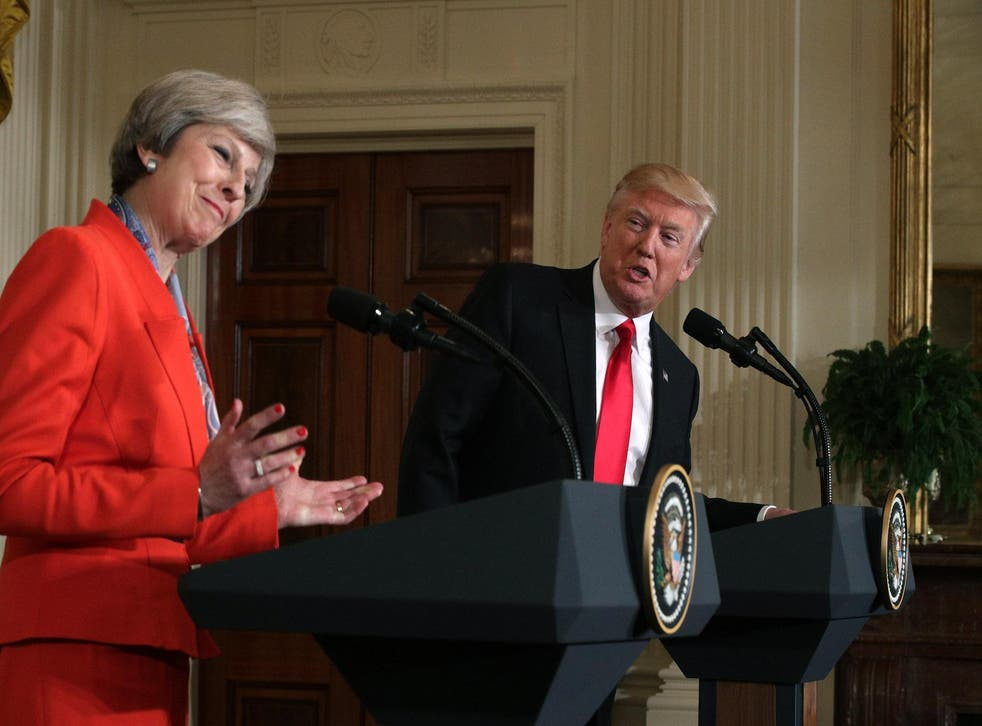 The Government has rejected a petition calling for Trump's state visit to be downgraded