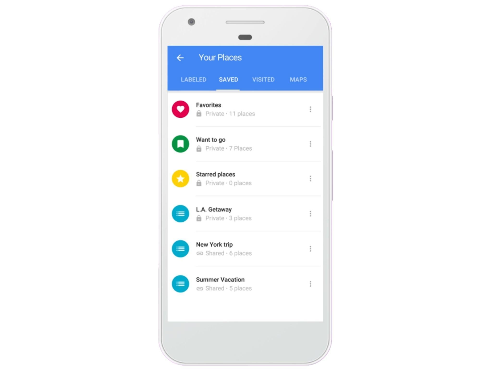 Google Maps: New feature lets you share lists of favourite