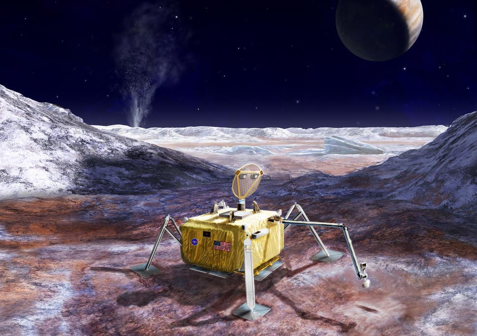 Nasa Preparing Mission To Send Lander To Europa Offering Humanitys