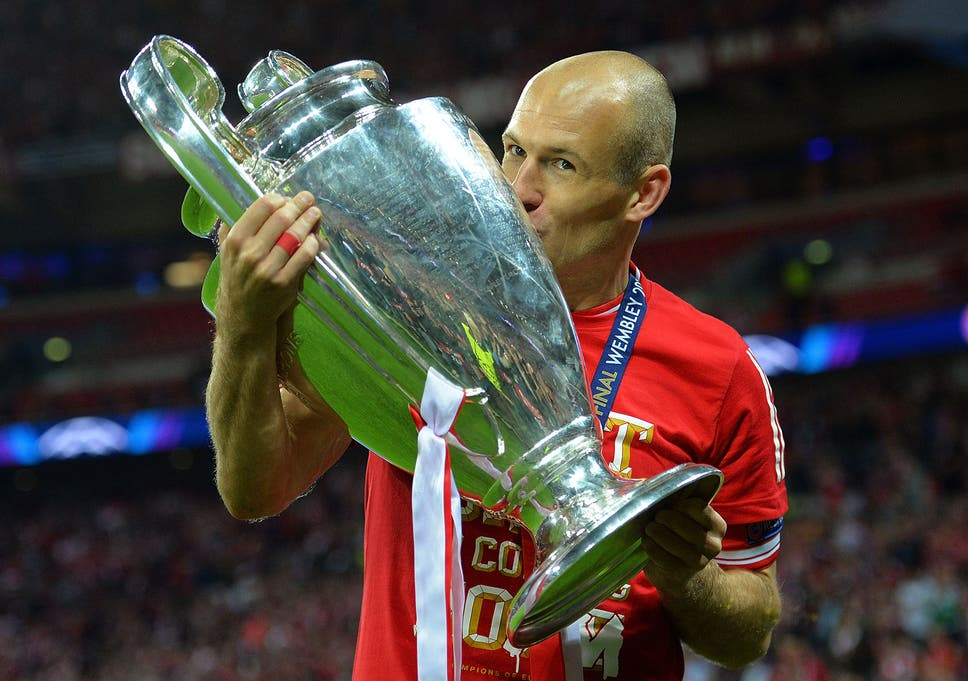 1b6cac44f Arjen Robben would  rather face Leicester  than Arsenal