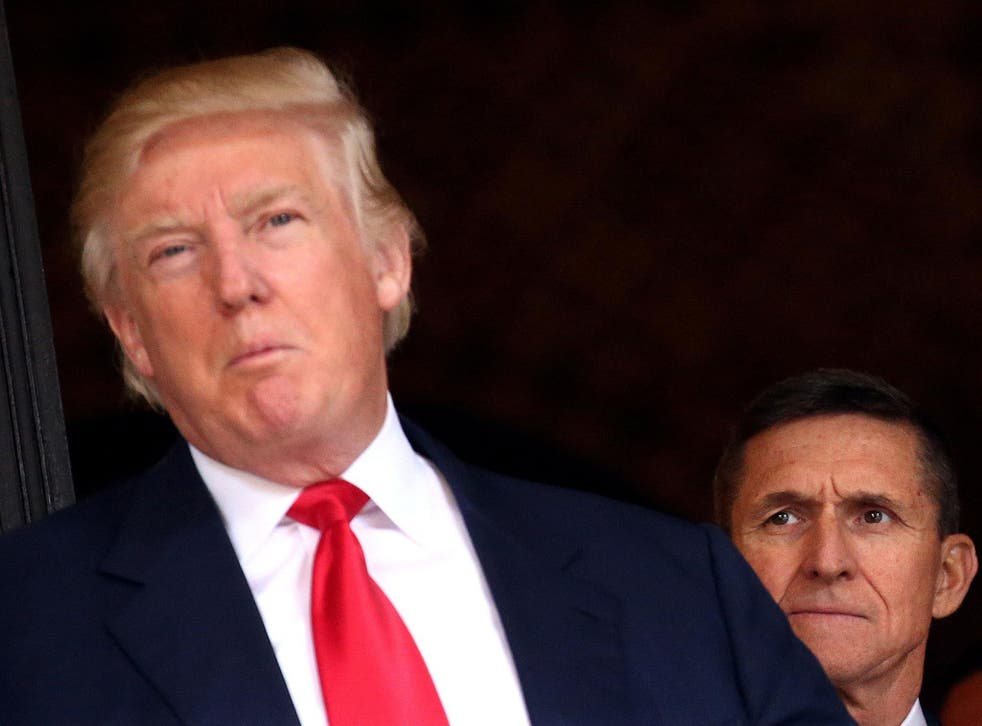 Michael Flynn resigned after revelations he had discussed US sanctions on Russia with the Russian ambassador to the US before Mr Trump took office