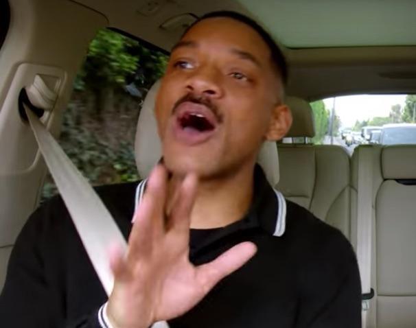Carpool Karaoke James Corden Raps Fresh Prince Theme With Will