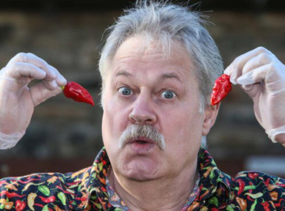 Gerald Fowler has been growing chilies since 1998