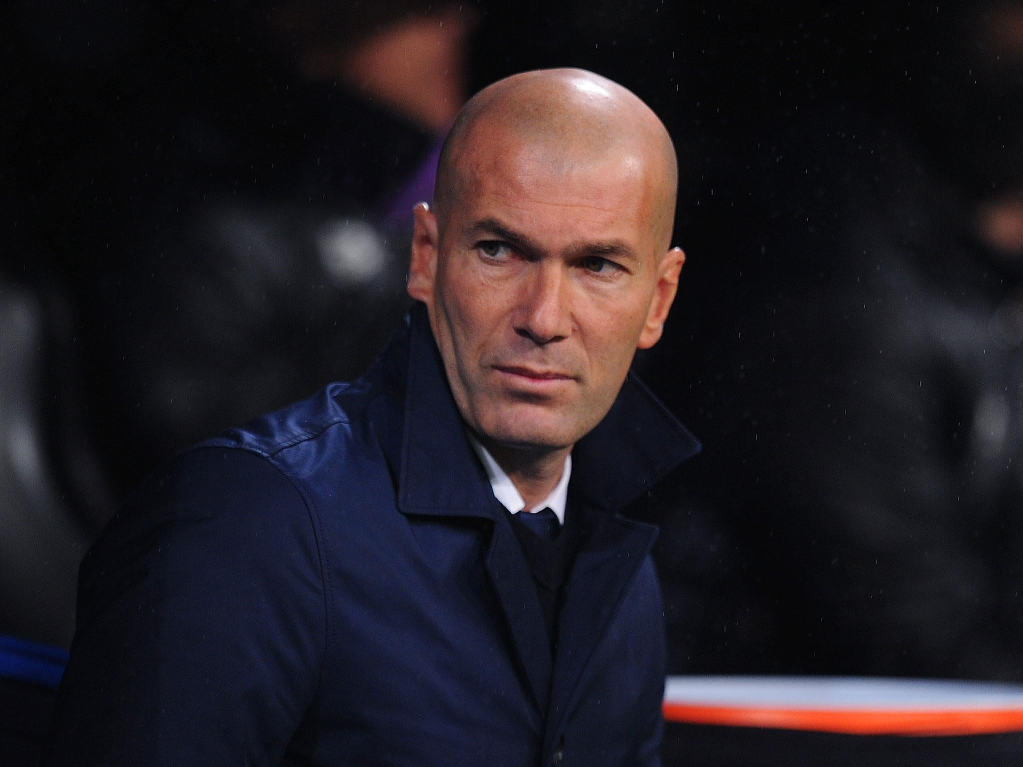 Zinedine Zidane admits his Real Madrid job is not safe and says he