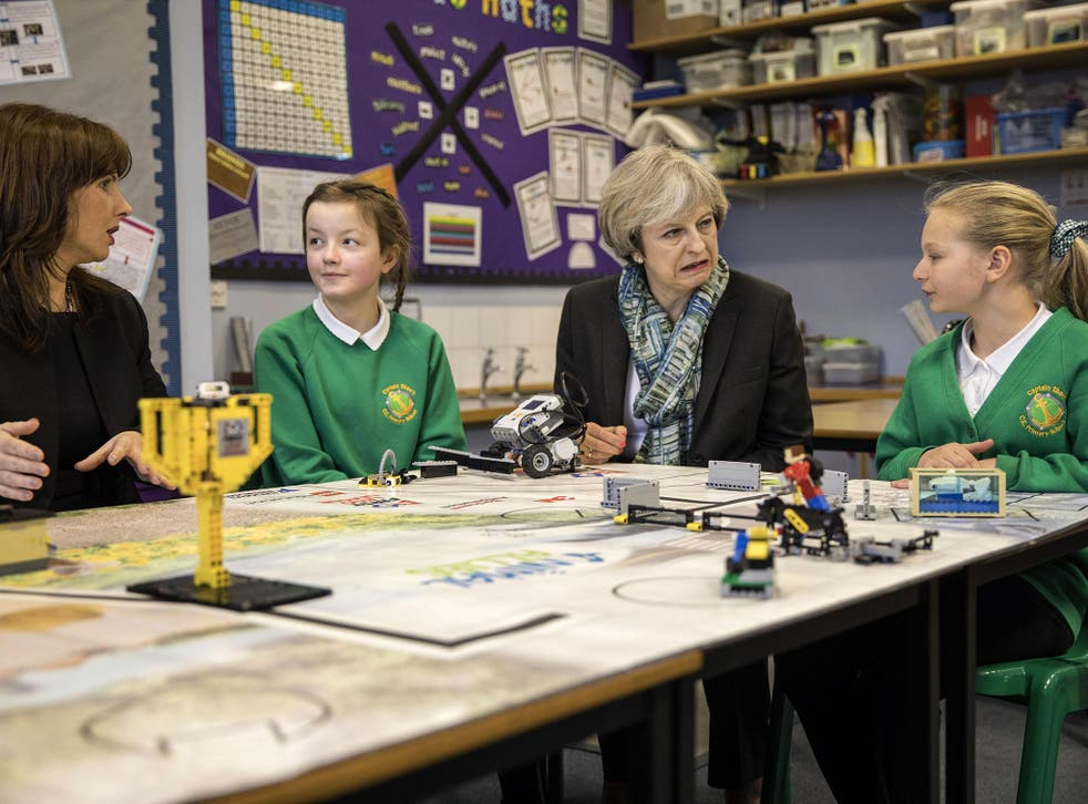 The Conservatives have pledged to remove the cap which prevents schools from choosing all pupils based on faith