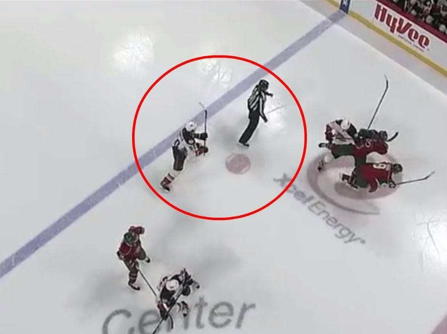 Anaheim Ducks centre Antoine Vermette sent off for 'slashing' referee with ice hockey stick   The Independentindependent_brand_ident_LOGOUntitled