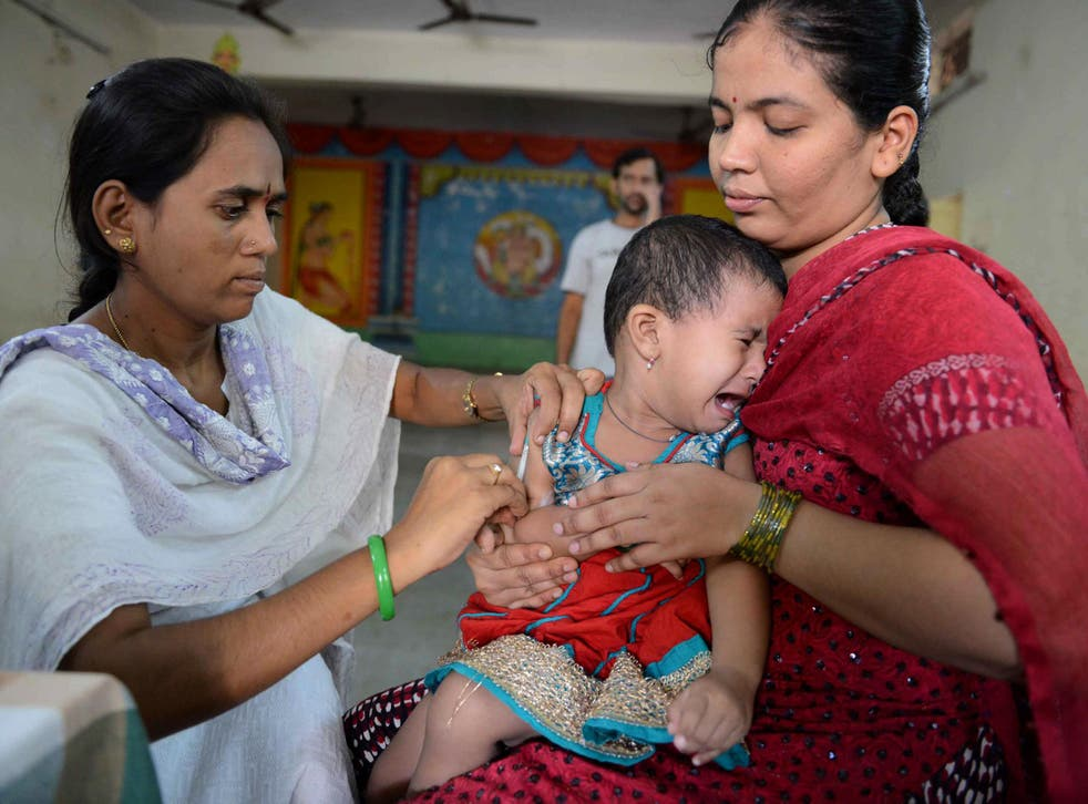 There is, however, a shortage of injectable polio vaccine