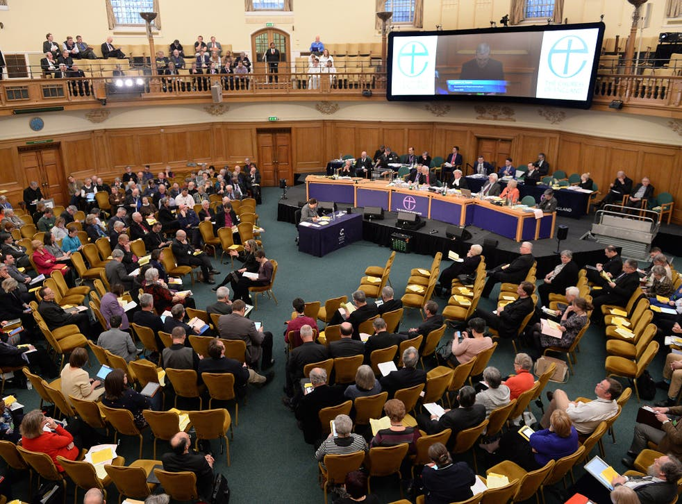 The General Synod voted to reject the controversial motion which said marriage is between a man and woman