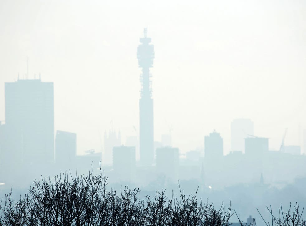 40,000 premature deaths per year in Britain are thought to be because of poor air quality