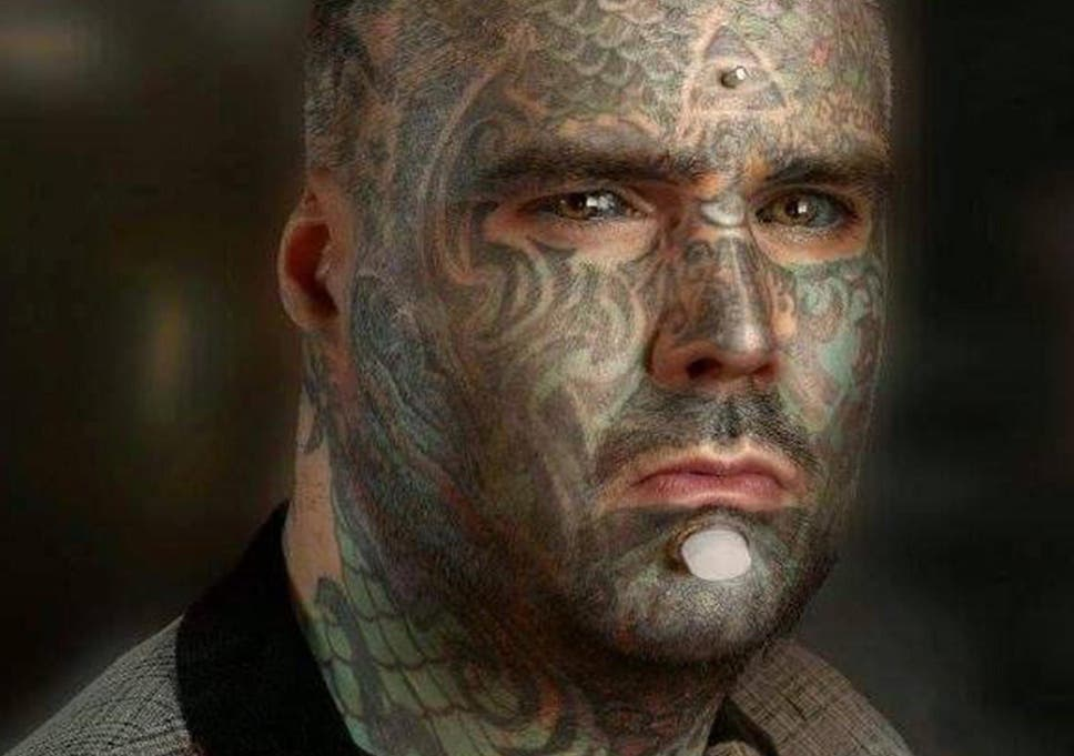 bad58b4ce14bd Body Art: UK's most tattoed man who dyed his eyes calls for equal treatment  of people with modifications. '