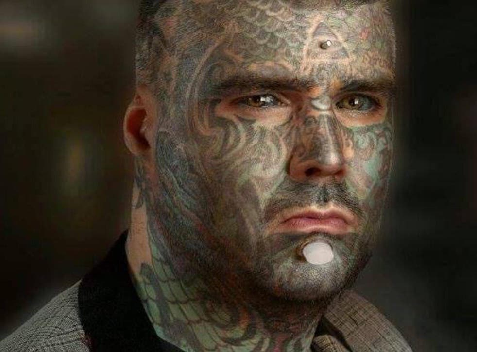 King of Ink Land King Body Art The Extreme Ink-Ite, who got his first tattoo aged 16
