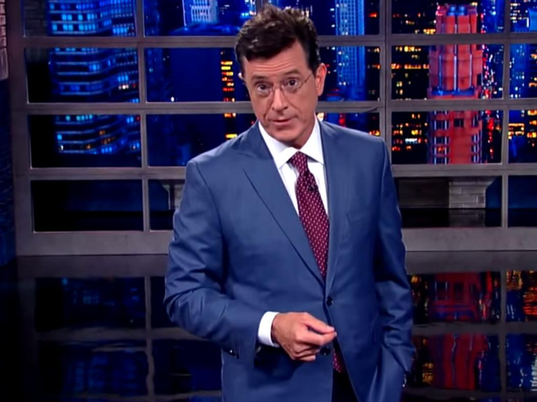 Donald Trump helps Stephen Colbert become most-watched ...