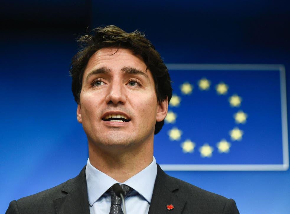 Candian Prime Minister Justin Trudeau
