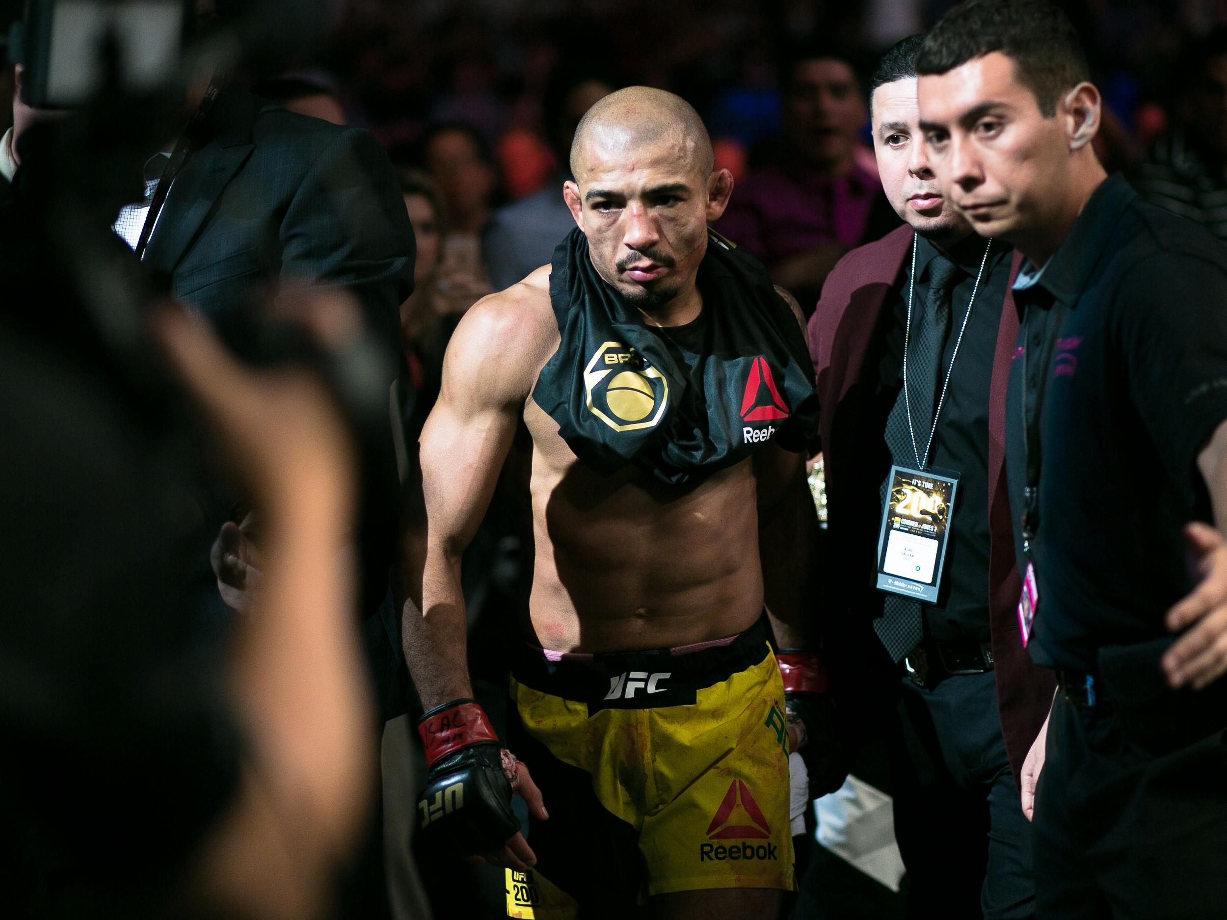 Jose Aldo convinced the UFC will stand in the way of a Conor McGregor v Floyd Mayweather superfight