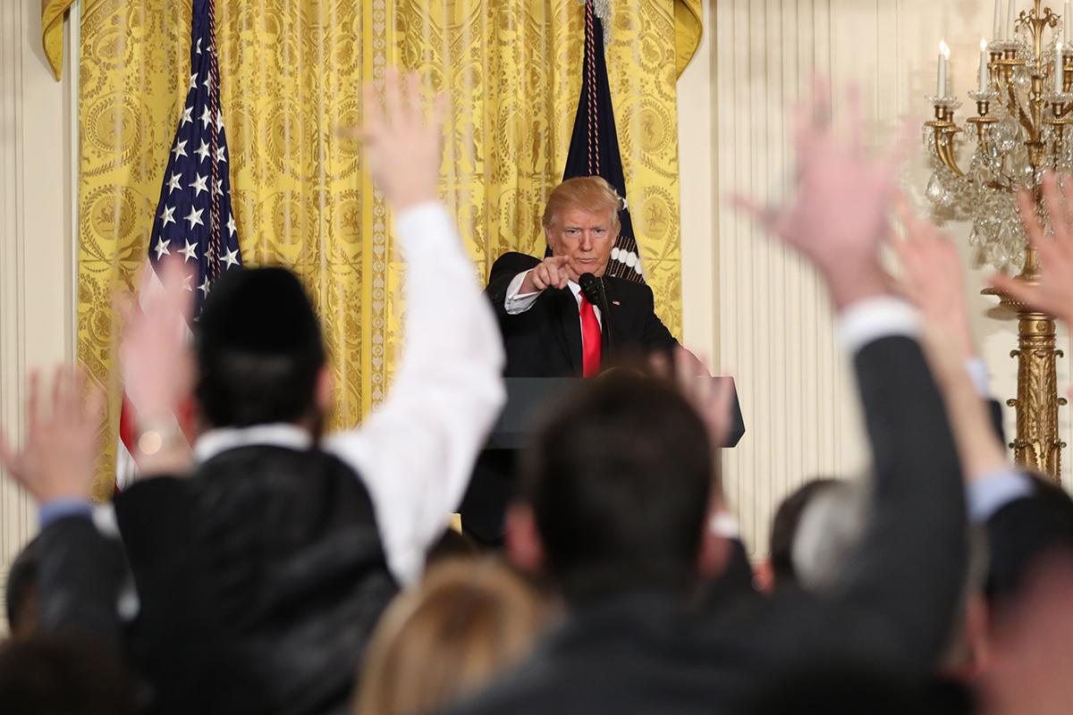 Trump Accuses Jewish Reporter Of Lying And Urges Him To 'sit Down'