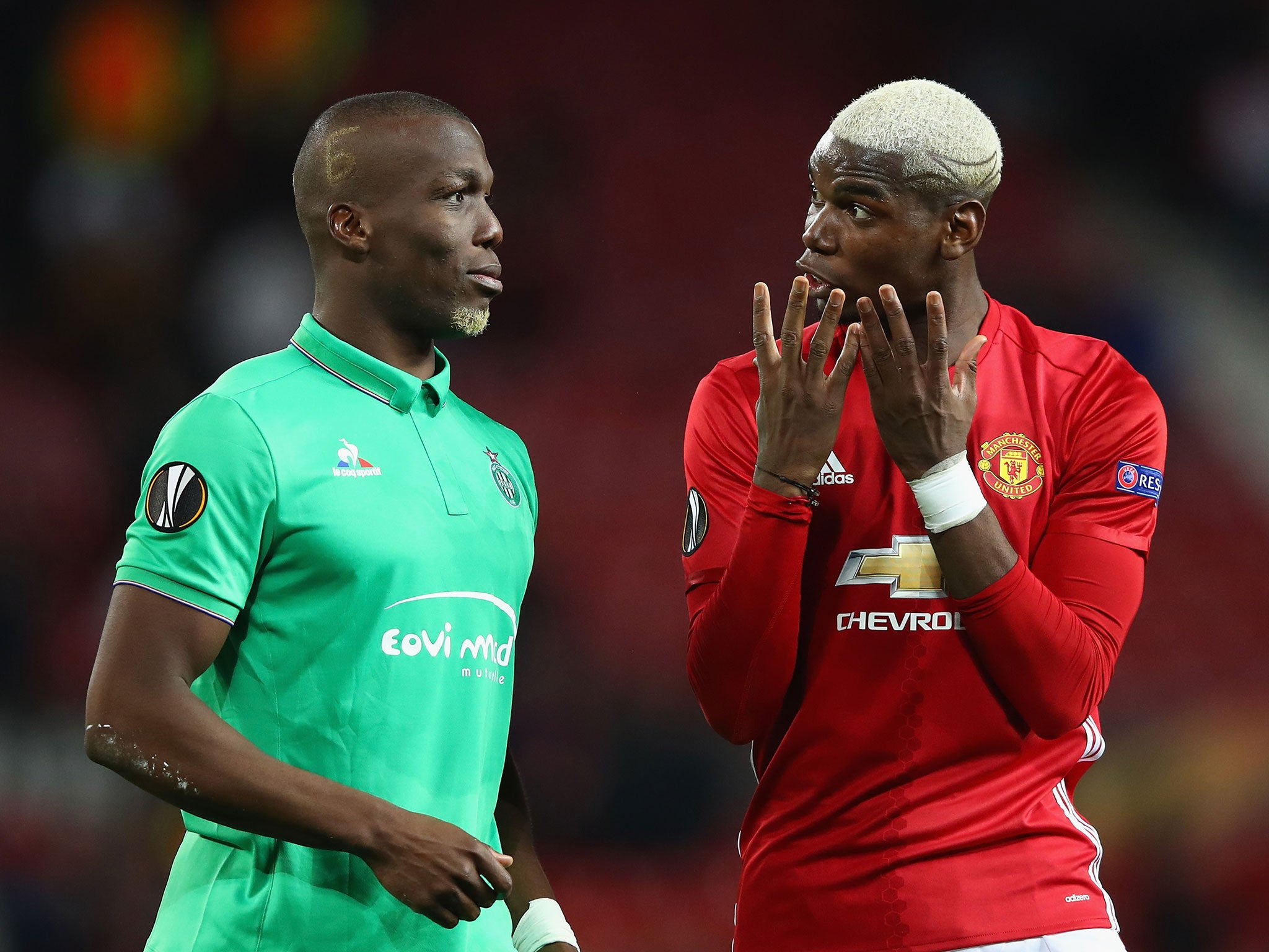 Paul Pogba bothered me by talking to his brother during