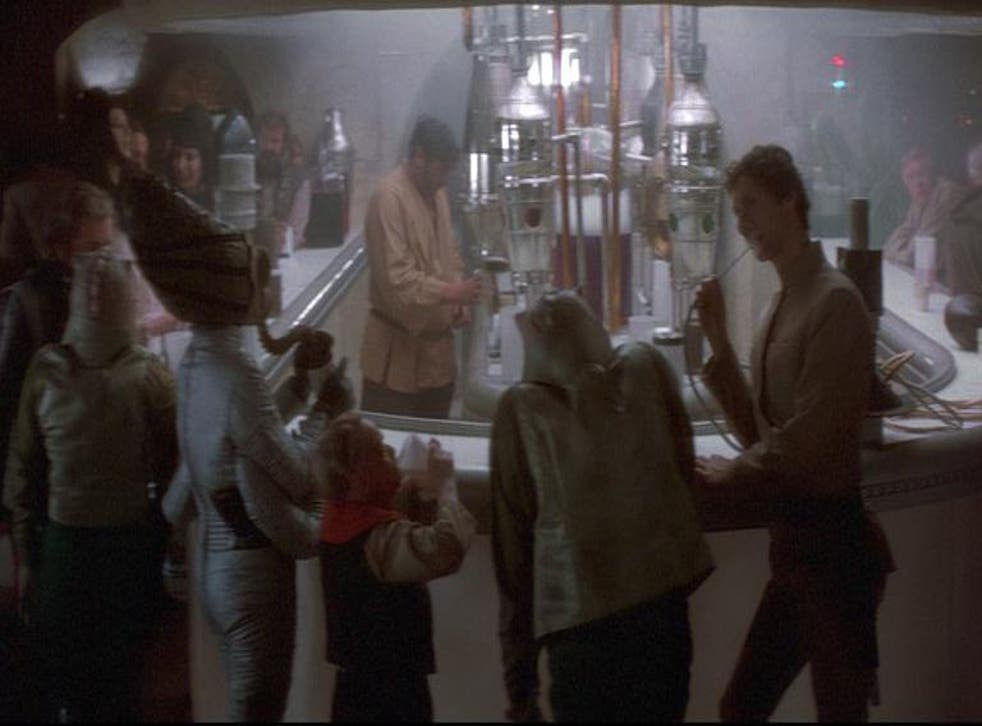 The Mos Eisley Cantina, Star Wars