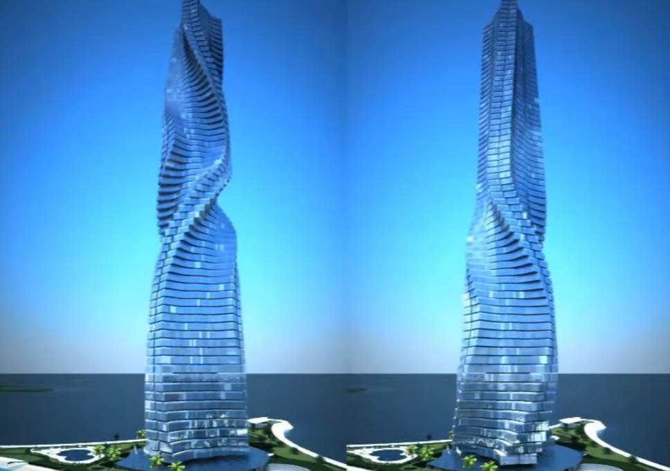 World's first fully rotational skyscraper allows residents