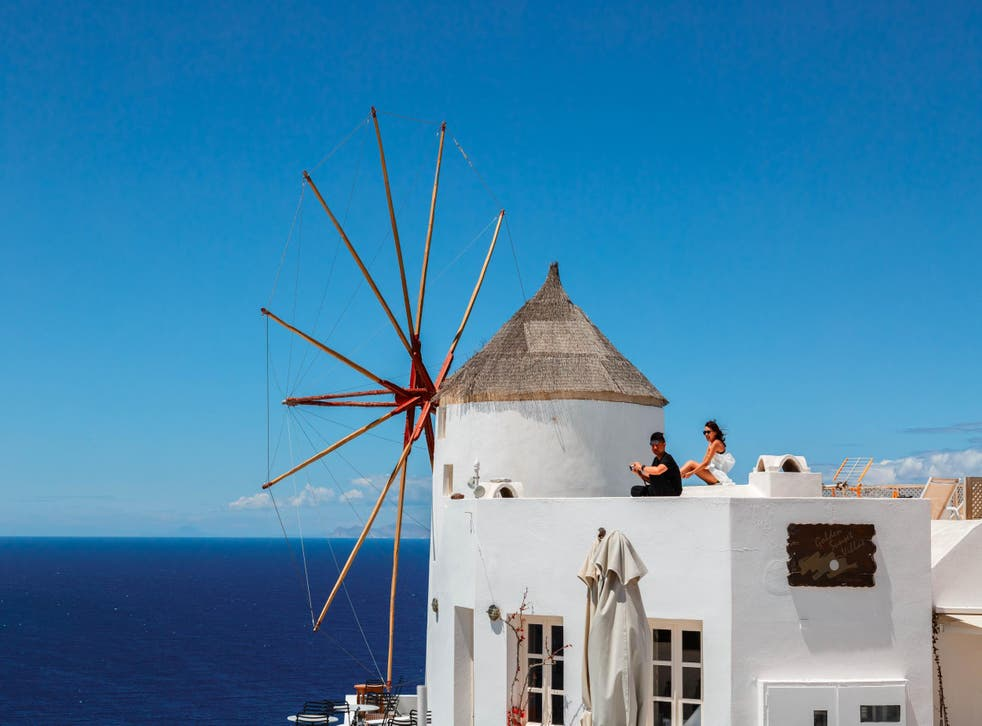Fake holiday website Cyclades Rentals claimed to offer villas in Santorini