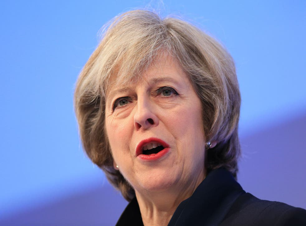 Ms May pledged that 'no stone will be left unturned in delivering a system that increases convictions, and works better for victims'