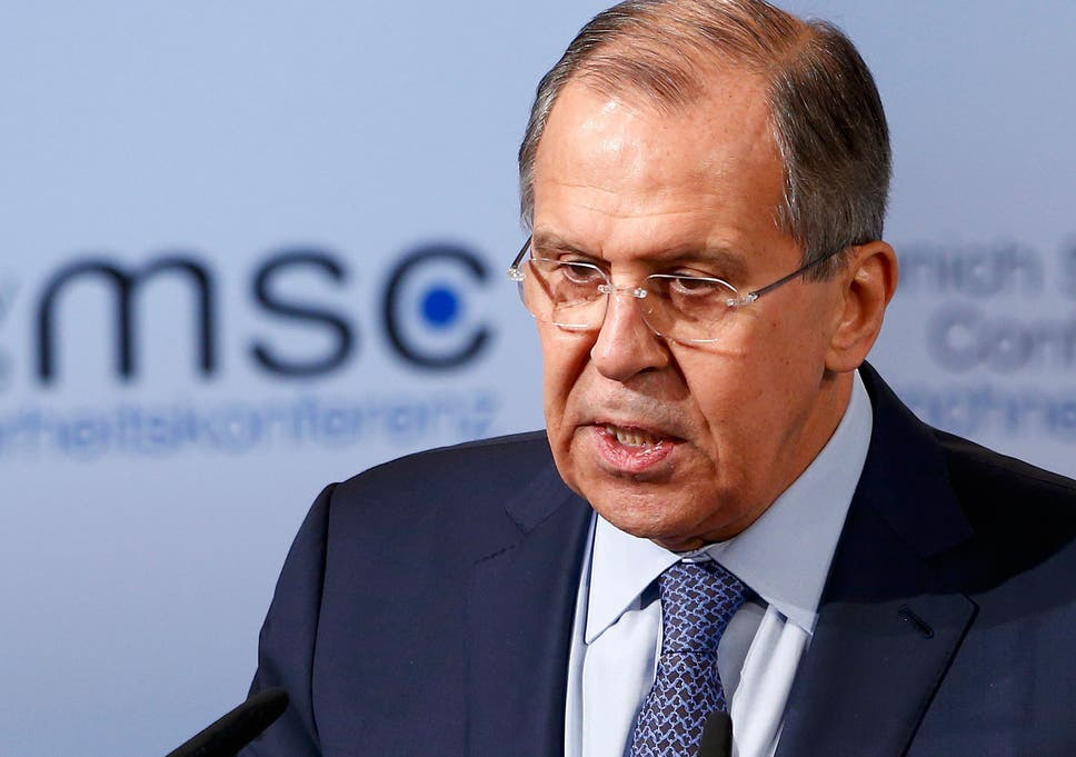 Russia's foreign minister calls for 'post-West world order