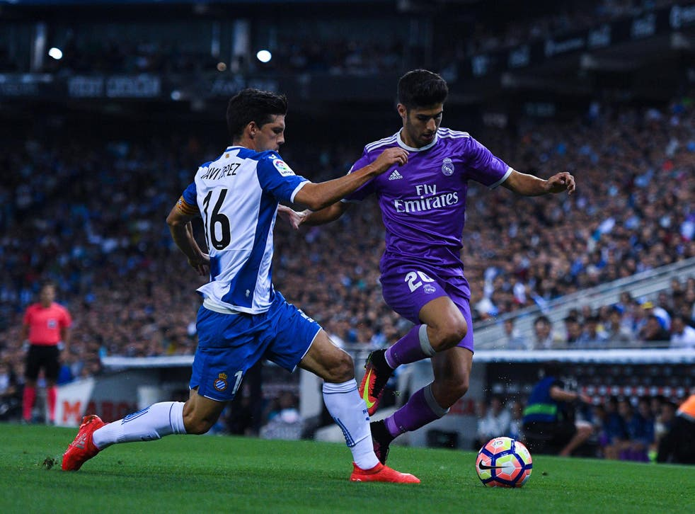 Madrid will be the firm favourites when they host Espanyol