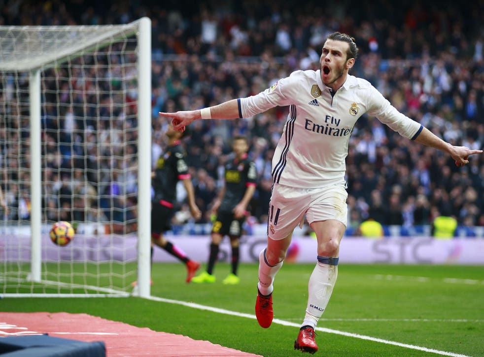 Bale scored on his return from injury