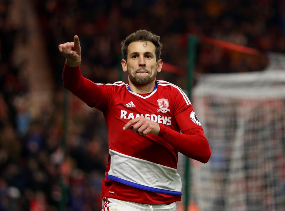 Substitute Cristhian Stuani won the game in the last few minutes