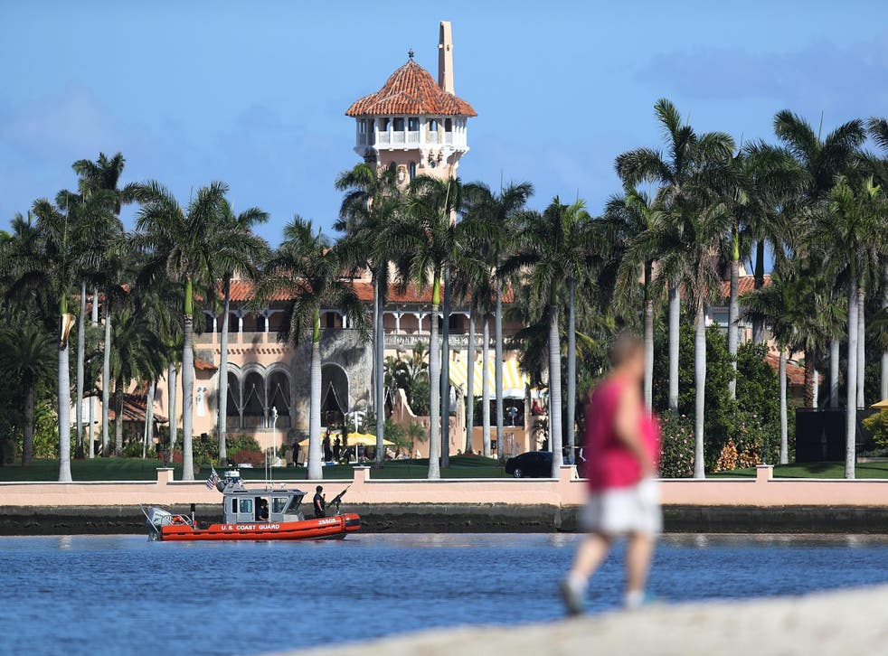 The Florida resort dubbed the 'Winter White House'