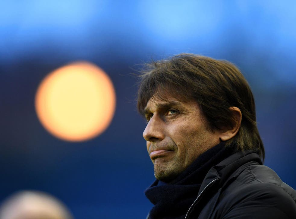 Conte is refusing to take his foot of the gas